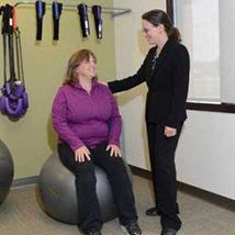 Chiropractic Crown Point IN Exercise Ball